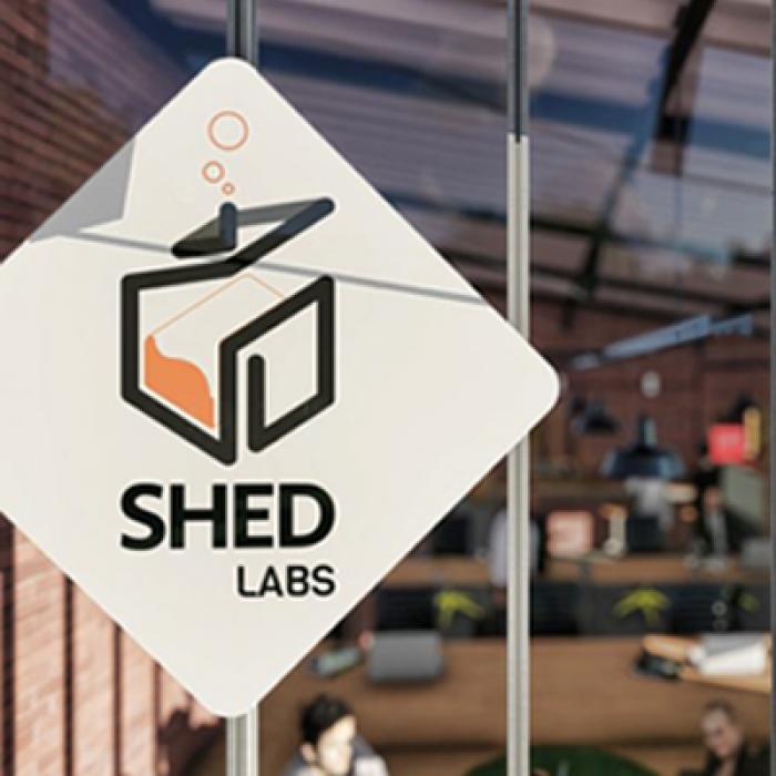 shed labs logo galpão